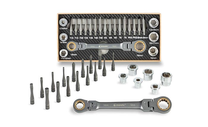 [AMAZON] Save 50% on the EZARC Ratchet Wrench with Adaptor Socket and Screwdriver Bit Set
