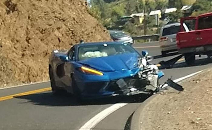 [ACCIDENT] First 2020 Corvette Stingray Crashes