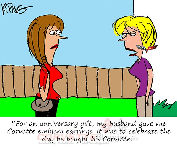 Saturday Morning Corvette Comic: Sharing Your Corvette Passion with Your Significant Other