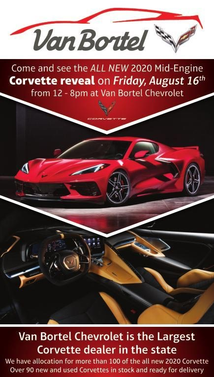 The C8 Corvette is Coming to Van Bortel Chevrolet in Upstate New York