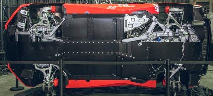 Oil Filter Location on the 2020 Corvette