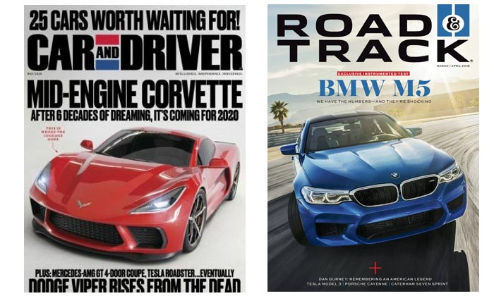 [AMAZON] Get 12 Issues of Car and Driver or Road & Track for Just $5 Each