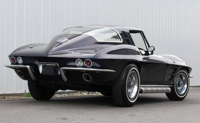 Corvettes for Sale: 1964 Corvette Coupe Was Once Driven by a GM Regional Manager