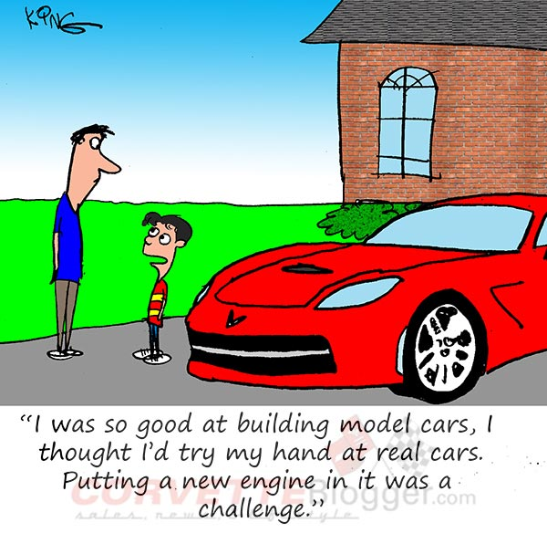 Saturday Morning Corvette Comic: Home-Built Corvette Stingray