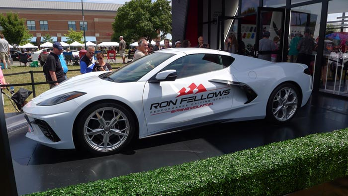 [VIDEO] First C8 Corvette Spied with Spring Mountain/Ron Fellows School on Doors border=