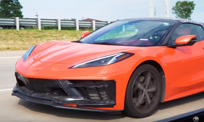 [SPIED] First 2020 Corvette Stingray with a Morello Red Interior?
