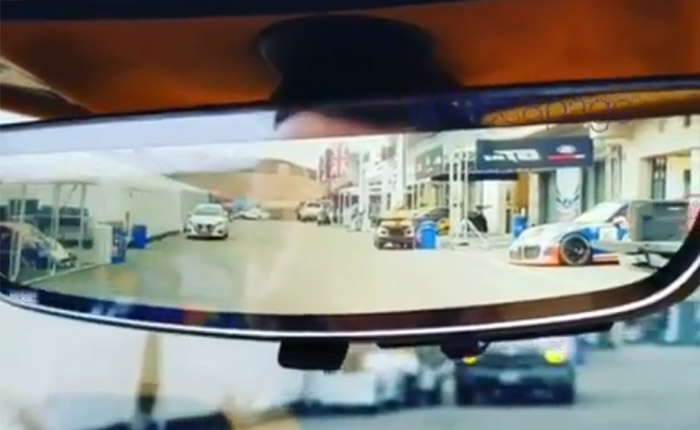 [VIDEO] Check out the Rear View Camera on the 2020 Corvette In Action
