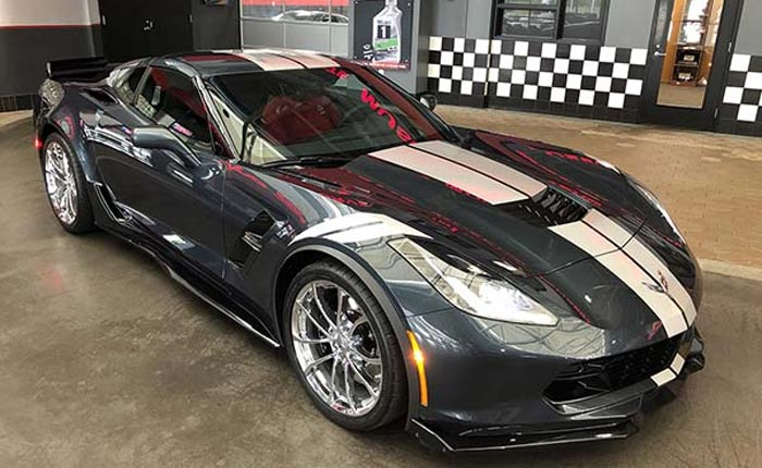 National Corvette Museum to Raffle One-of-a-Kind 2019 Corvette Grand Sport