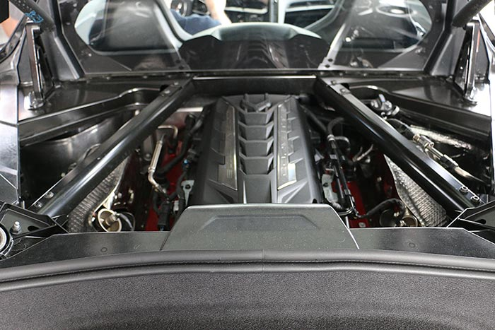 [PICS] The C8 Corvette Engine Compartment Without the Engine Appearance Package