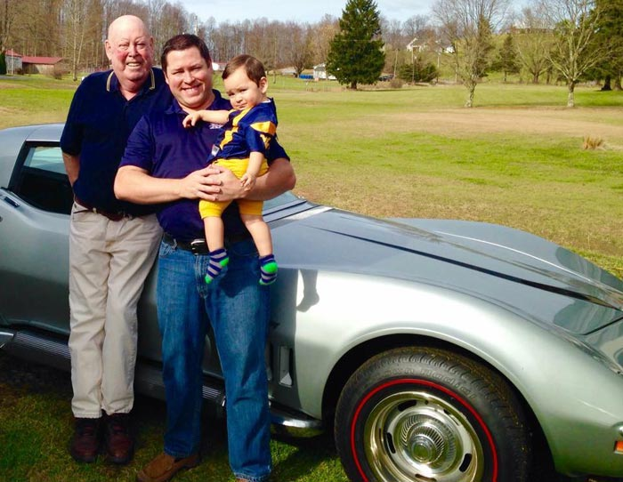 [VIDEO] Texas Man To Fulfill His Late Father's Plan to Caravan to the National Corvette Museum