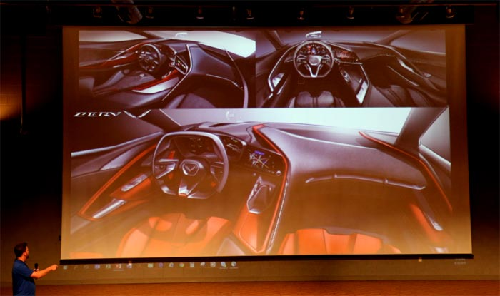[VIDEO] Corvette Team Presentation From Friday Focuses on the C8 Corvette's Interior