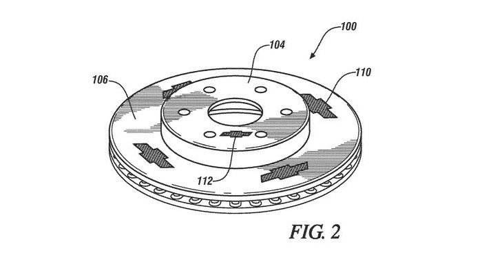 New Chevrolet Patent Features Bow-Tie Branded Brake Rotors