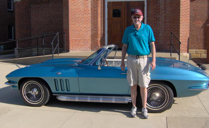 Retired Police Officer Wins the 1965 Corvette from the St. Bernard's Classic Corvette Giveaway