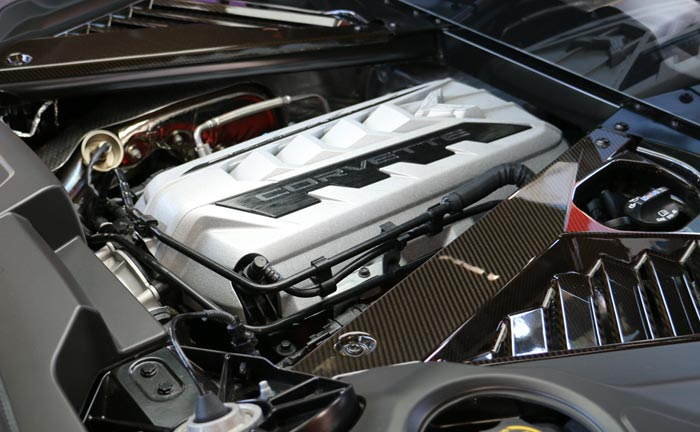 The C8 Corvette's LT2 Small Block V8 Earns a Spot on Wards 10 Best Engines for 2020