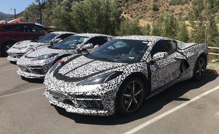 [SPIED] Are These Hybrid C8 Corvette Mules Testing in Colorado?