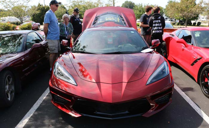 PICS] A 1LT 2020 Corvette Stingray with a Transparent Top at