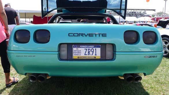 [PICS] The Corvette Vanity Plates of Corvettes at Carlisle 2019