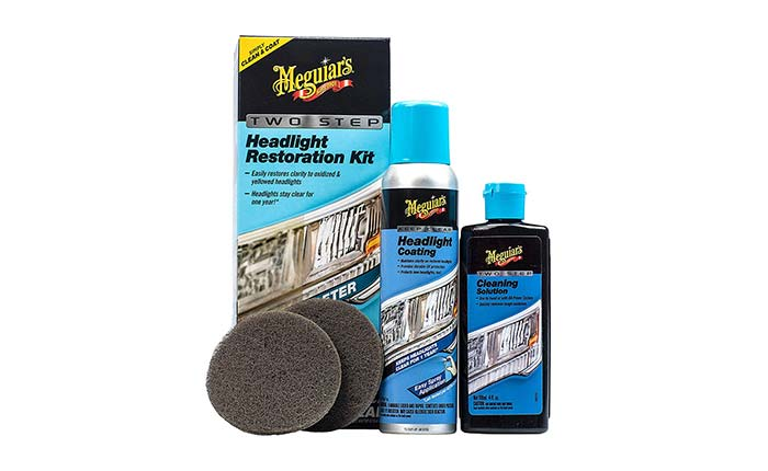 [AMAZON] Save 39% on Meguiar's Two-Step Headlight Restore Kit Now Just $12