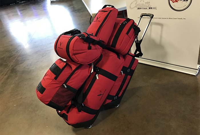 [VIDEO] The 2020 Corvette's Storage Capacity Demonstrated with Loading of 6-Piece Luggage Set