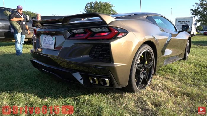 [VIDEO] Zeus Bronze 2020 Corvette Captured In the Wild