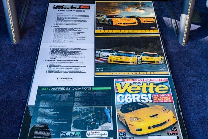 Corvettes for Sale: Rare 1 of 7 Pratt & Miller Corvette C6RS