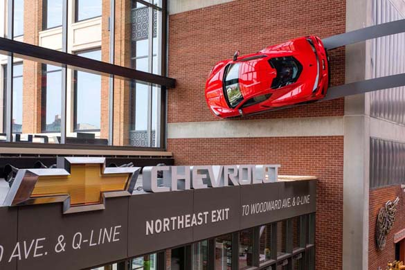 [GALLERY] 2020 Corvette Stingray Now On Display at Detroit's Little Caesars Arena