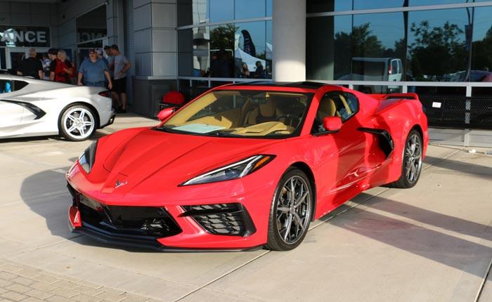 2020 Corvette Weekly Constraint Report – 09/12/19