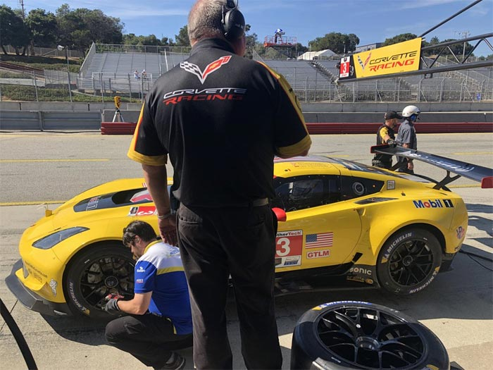 Corvette Racing at Laguna Seca: Another Tight Qualifying Battle in GTLM