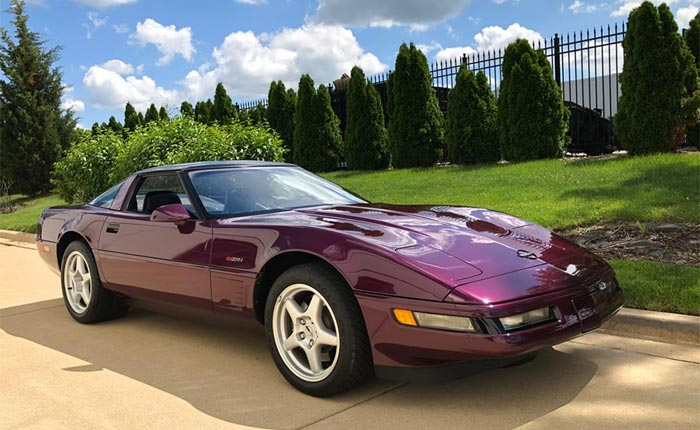 Corvettes for Sale: 1995 Corvette ZR-1 in Dark Purple Metallic