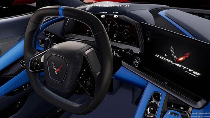 [VIDEO] Corvette Configurator Occassional Shares Advanced 3D Views of the 2020 Corvette Stingray's Interior