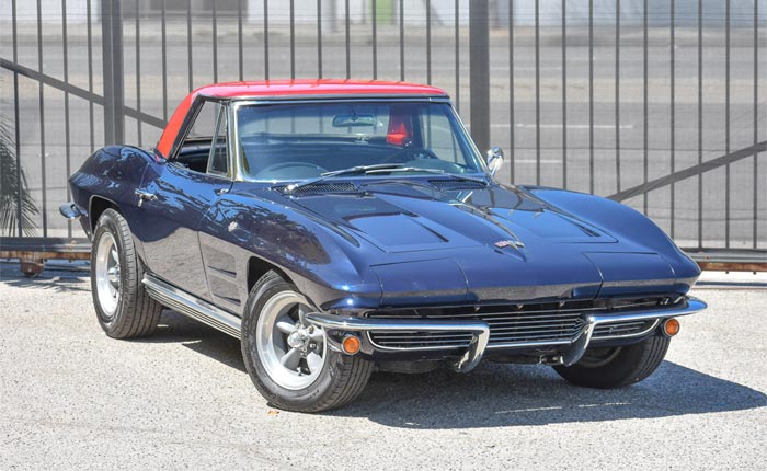 Corvettes for Sale: A 1964 Corvette with a Connection to Royalty