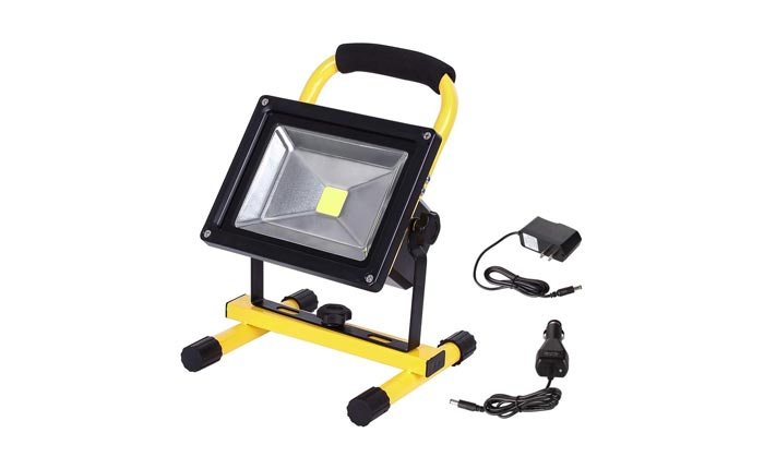 [AMAZON] Save 60% on this LED Rechargeable Outdoor Flood Light Now Just $22 Shipped