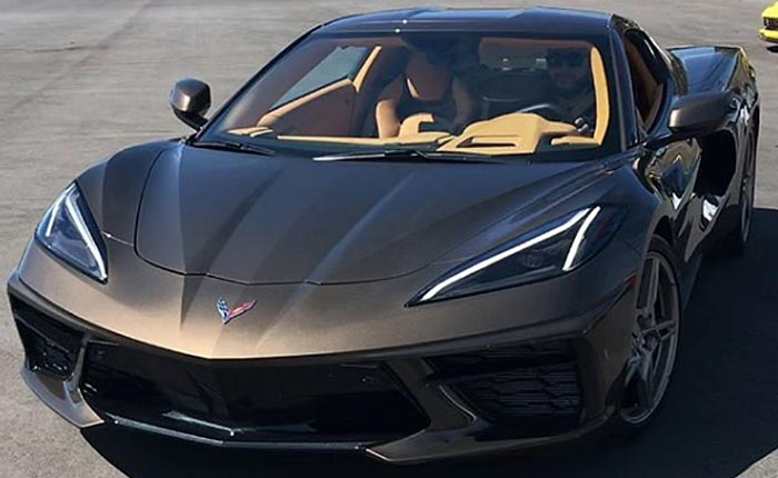 [PIC] Corvette Racing's Oliver Gavin Loves the 2020 Corvette Stingray