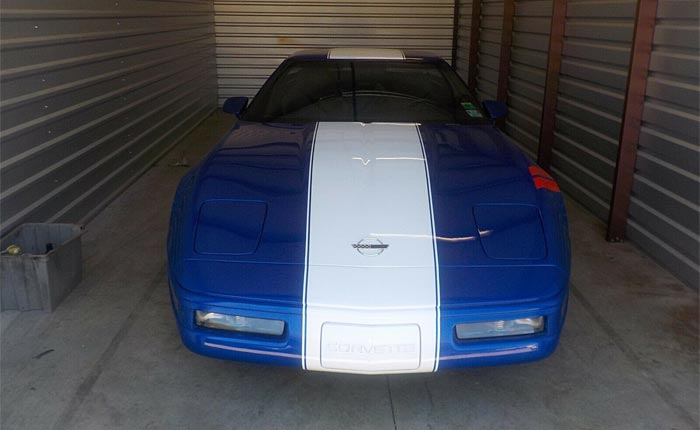 Corvettes on eBay: 1996 Corvette Grand Sport No. 295 is a One-Owner Storage Unit Find
