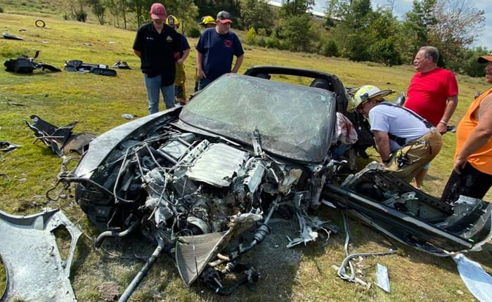 [ACCIDENT] How This Driver Survived this Rollover Crash is a Testament to the C7 Corvette's Safety Features