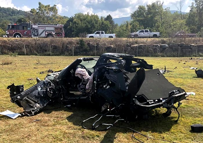 [ACCIDENT] How This Driver Survived a Horrific Rollover Crash is a Testament to the C7 Corvette's Safety Features