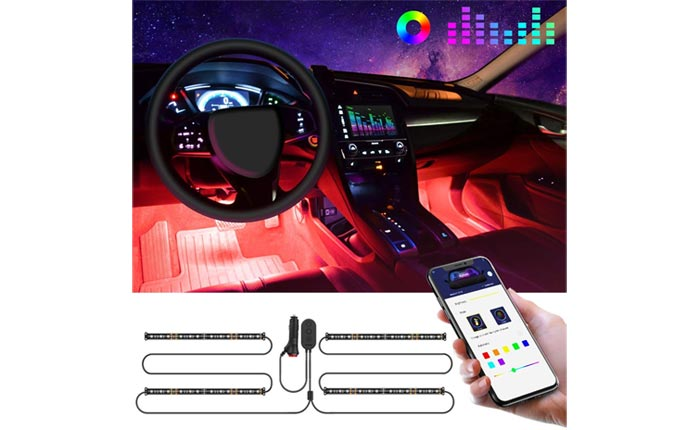 [AMAZON] Save 15% on the GOVEE LED Car Lighting Kit Now Under $19
