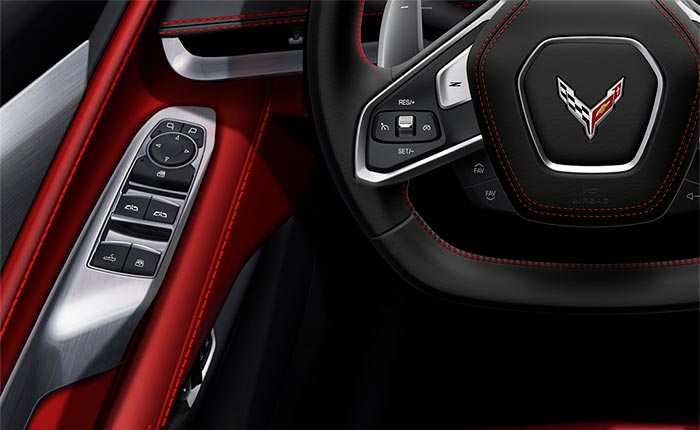 [PICS] Controls for Operating the 2020 Corvette Stingray's Convertible Top Hiding in Plain Sight