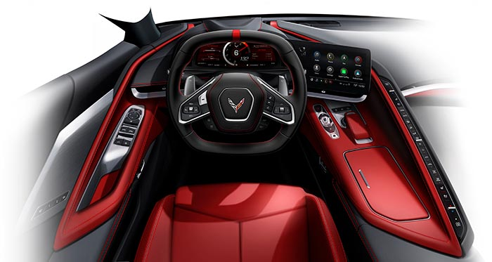 [PIC] Controls for Operating the 2020 Corvette Stingray's Convertible Top Hiding in Plain Sight