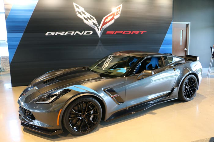 C7 Corvette Grand Sport Total Production Breakdown