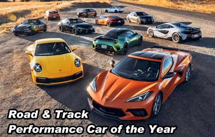 [VIDEO] Watch as the 2020 Corvette Stingray Competes for Road & Track's Performance Car of the Year