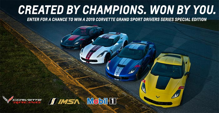 Race to Win a New 2019 Corvette Grand Sport Driver's Series Special Edition