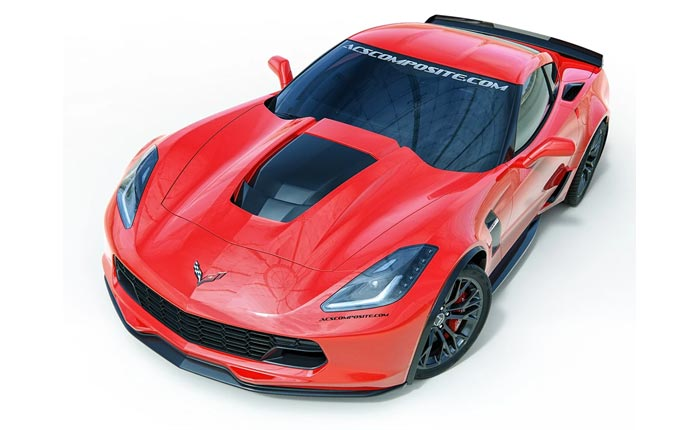 ACS Composite Now Offering a C7 Corvette ZR1 Hood for Stingray, Grand Sport and Z06 Models