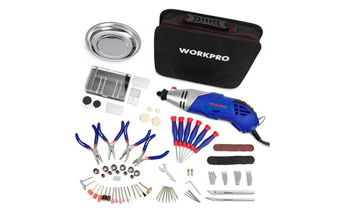 [AMAZON] Save 60% on the WORKPRO 152-Piece Rotary Tool Kit Now Just $16