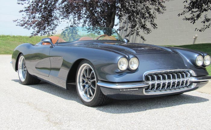 Corvettes for Sale: This 1959 Corvette Restomod Won the Builders Choice Award at Good Guys Nationals