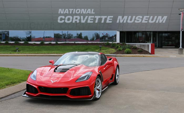 C7 Corvette ZR1 Total Production Breakdown