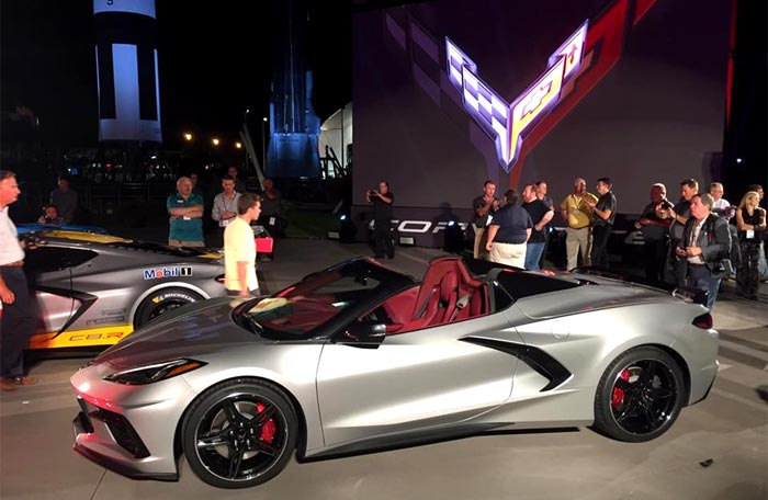 [VIDEO] Watch the Reveal of the 2020 Corvette Stingray Convertible and C8.R Race Car