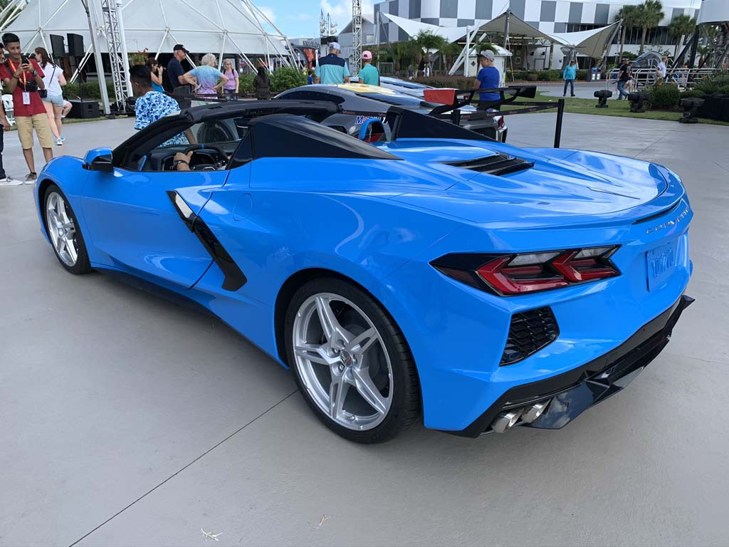 Gallery The 2020 Corvette Stingray Convertible S Daytime