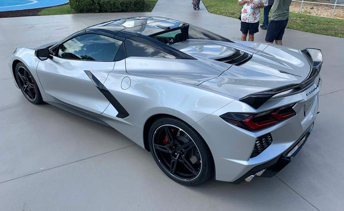 [GALLERY] The 2020 Corvette Stingray Convertible's Daytime Reveal (37 Corvette photos)
