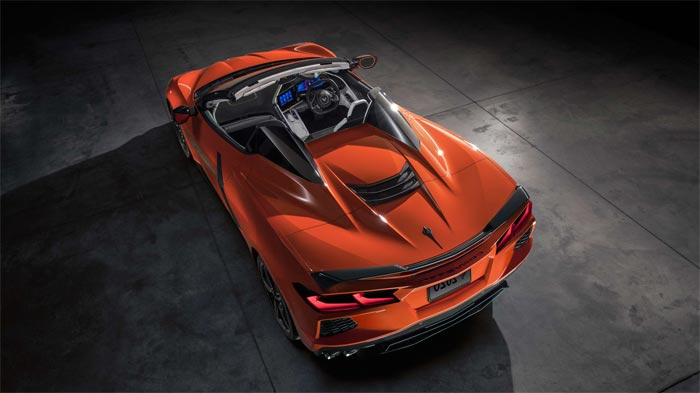 2020 Corvette Stingray Convertible
